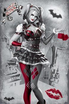 Plakat Batman Arkham Knight - Harley Quinn