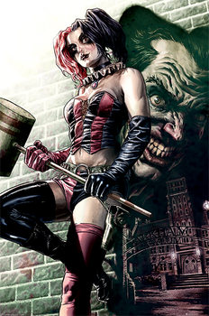 Plakat Batman - Harley Quinn Pose