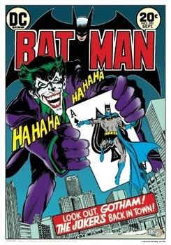 BATMAN Plakat 3D Oprawiony