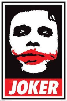 Plakat Batman: Mroczny rycerz - Obey The Joker