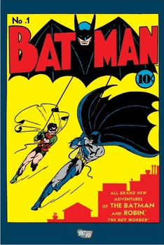 Plakat  BATMAN - no. 1