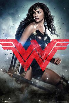 Plakat Batman v Superman: Dawn of Justice - Wonder Woman Solo