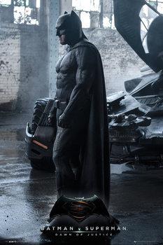 Batman vs. Superman: Úsvit spravedlnosti - Batman plakát, obraz