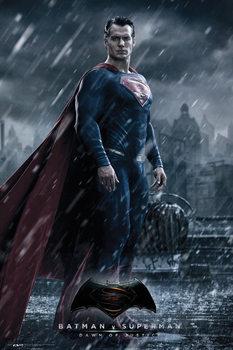 Plakát Batman vs. Superman: Úsvit spravedlnosti - Superman