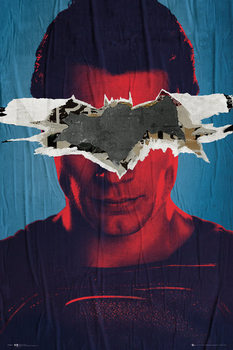 Plakát Batman vs. Superman: Úsvit spravedlnosti - Superman Teaser