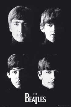 Plakat Beatles - with the