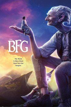 Plakat BFG: Bardzo Fajny Gigant - One Sheet