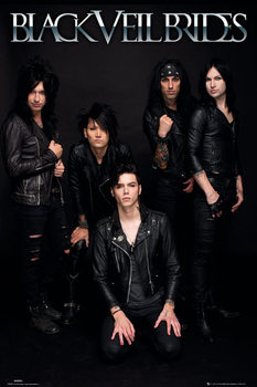 Black veil brides - band plakát, obraz