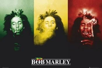 Plakát Bob Marley - flag