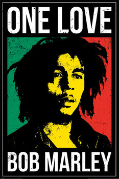 Plakat Bob Marley - One Love