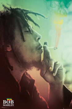 Plakát Bob Marley - Smoking Lights