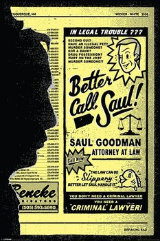Plakat Breaking Bad - Better Call Saul!