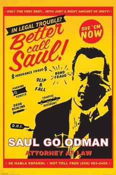 Plakát  Breaking Bad (Perníkový táta) - Better Call Saul Attorney At Law