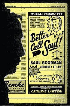 Plakát Breaking Bad (Perníkový táta) - Better Call Saul!
