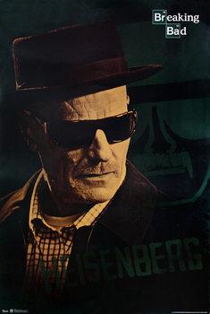 Plakát BREAKING BAD - PERNÍKOVÝ TÁTA - Heisenberg (Walter White)