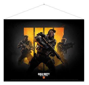 Textilní plakát Call Of Duty - Keyart