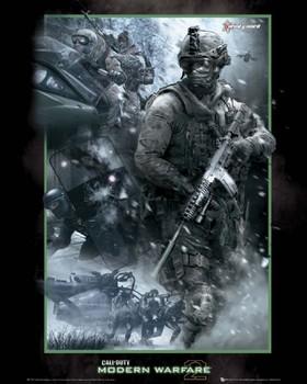 Plakát Call of Duty MW 2