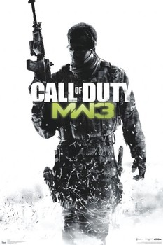Plakát Call of Duty MW3 - cover
