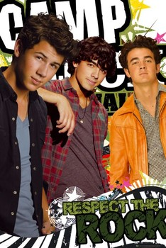 Plakát Camp Rock 2 - respect