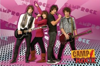 Plakát CAMP ROCK - group