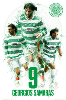 Plakat Celtic - Georgios Samaras