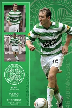 Plakat Celtic - mcgeady