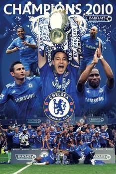 Plakát Chelsea - champions 2010