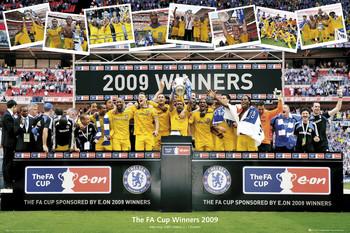 Plakát Chelsea - fa cup winners 2009