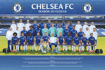 Plakát Chelsea FC - Team Photo 15/16