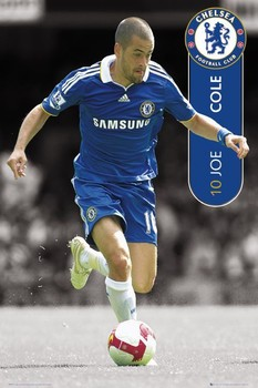 Plakát Chelsea - joe cole 08/09