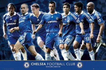 Plakát Chelsea - Players 08/09