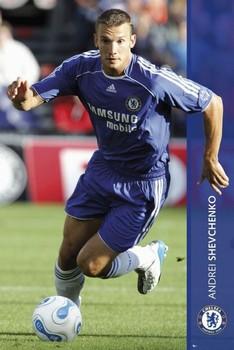 Plakát Chelsea - Shevchenko 06/07