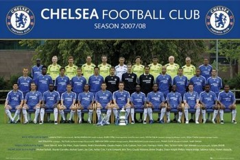 Plakát Chelsea - Team photo 07/08