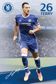 Plakat Chelsea - Terry 16/17