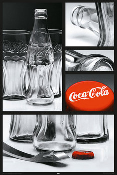 Plakat Coca Cola - Photo comp