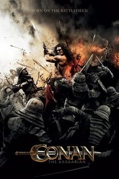 Plakát CONAN THE BARBARIAN - battlefield