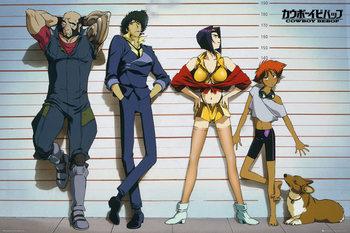 Plakát  Cowboy Bebop - Line Up