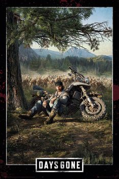 Plakát  Days Gone - Key Art