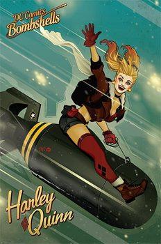 Plakát DC Comics Bombshells - Harley Quinn Bomb