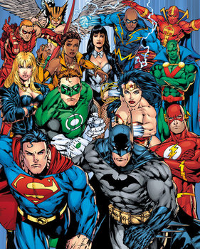 Plakat DC Comics - Cast
