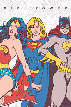 Plakat DC Comics - Girl Power
