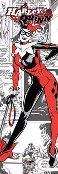 Plakát DC Comics - Harley Quinn Comic