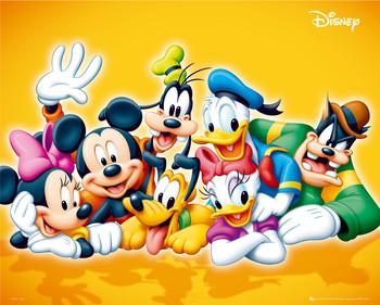 Plakát DISNEY - characters