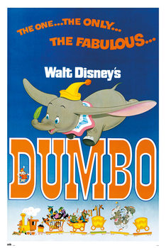 Plakat  Disney - Dumbo
