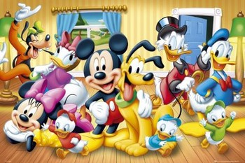 Plakat DISNEY - group