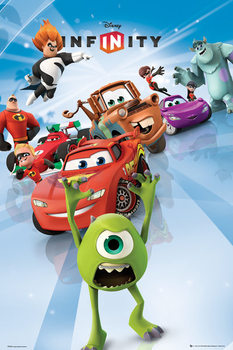 Plakát Disney Infinity - Cast Portrait
