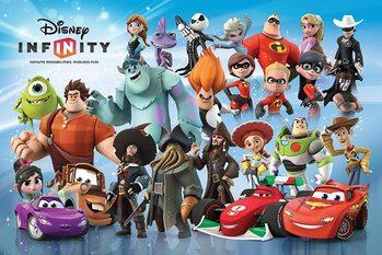 Plakát Disney Infinity - Character Montage