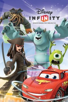 Plakát DISNEY INFINITY - group
