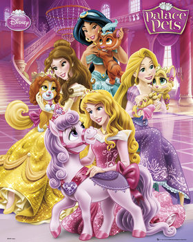 Disney Princess Palace Pets - Cast plakát, obraz