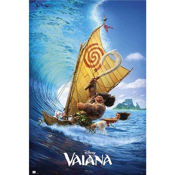 Plakát  Disney Vaiana Boat